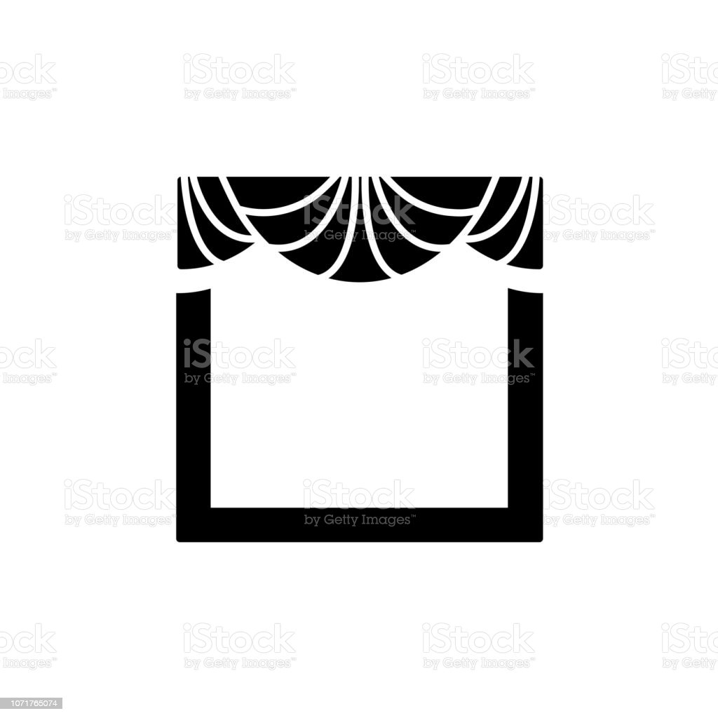 royalty free curtain valance clip art  vector images  u0026 illustrations