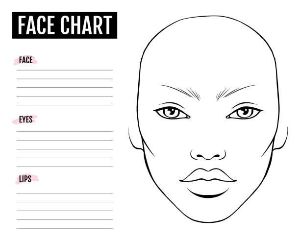Blank Face Template - Face Without Hair Clipart - Free Transparent PNG  Download - PNGkey