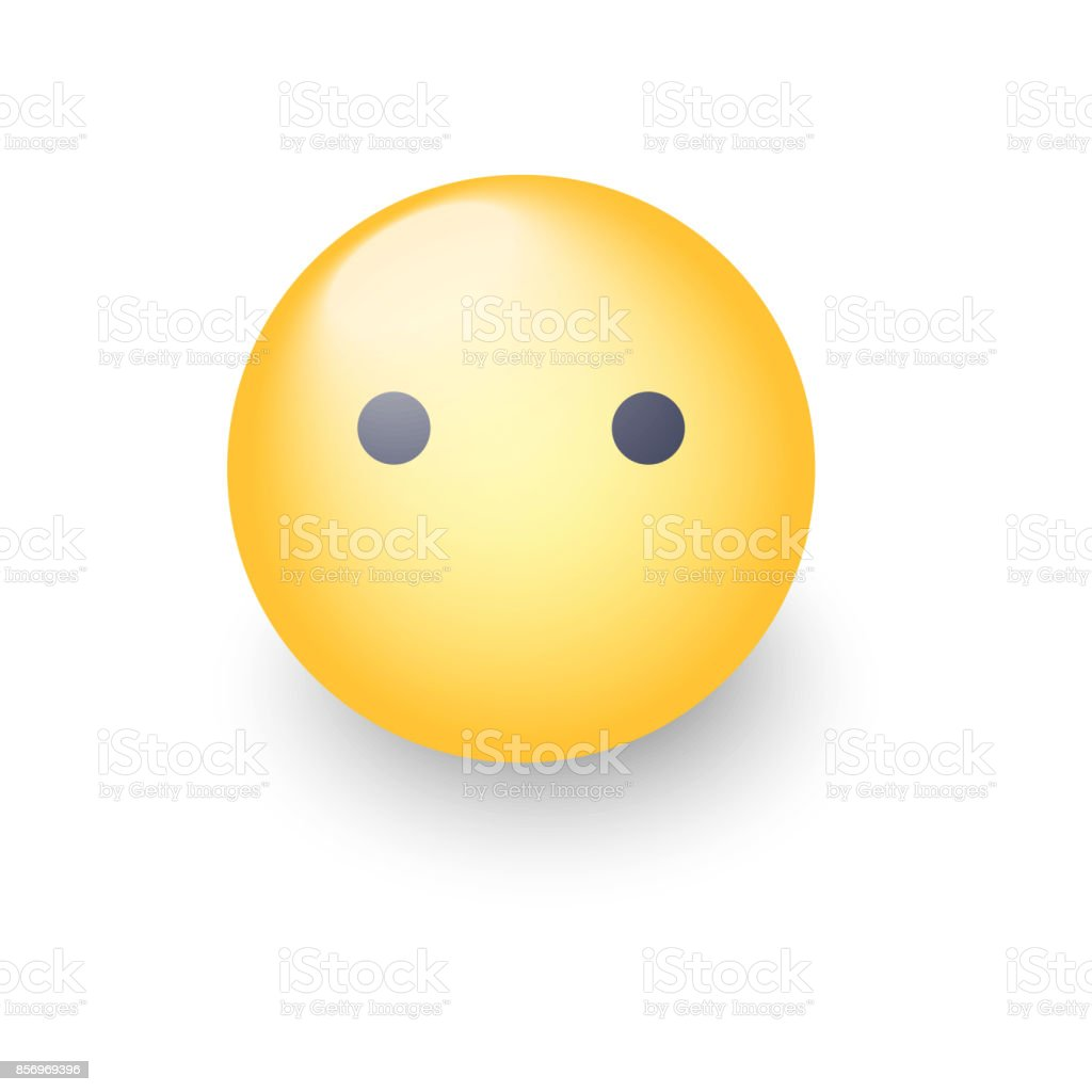 Silent Emoji Diagram Wiring Services Angel Diagrams Face Without Mouth Cartoon Vector Emoticon Smiley Cute Rh Istockphoto Com Yelling