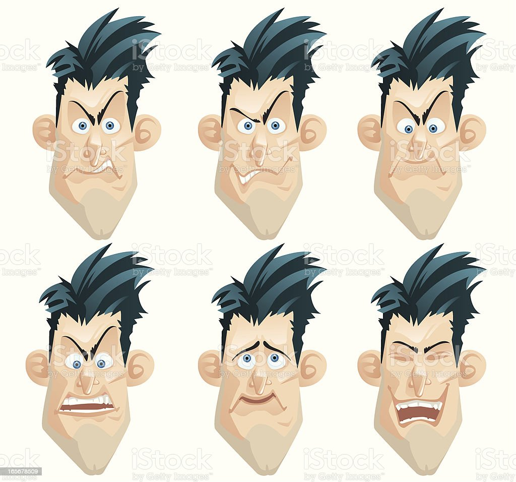 Face Expressions royalty-free face expressions stock vector art & more images of adult