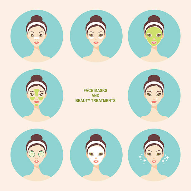 Royalty Free Skin Care Clip Art, Vector Images ...