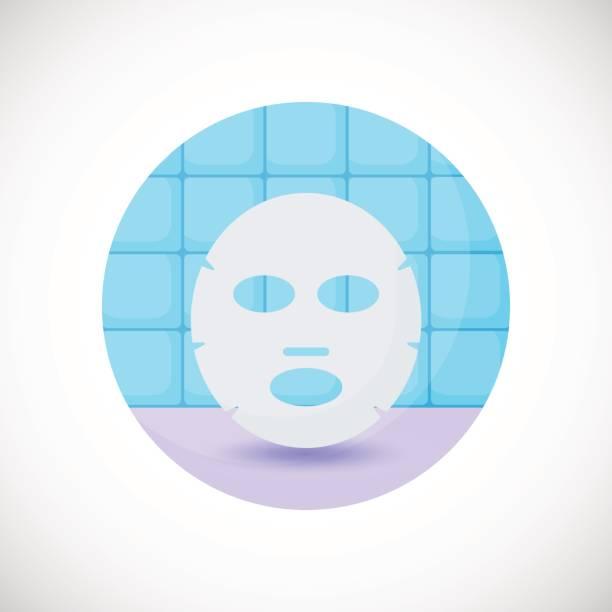 Royalty Free Facial Mask Sheet Clip Art, Vector Images ...