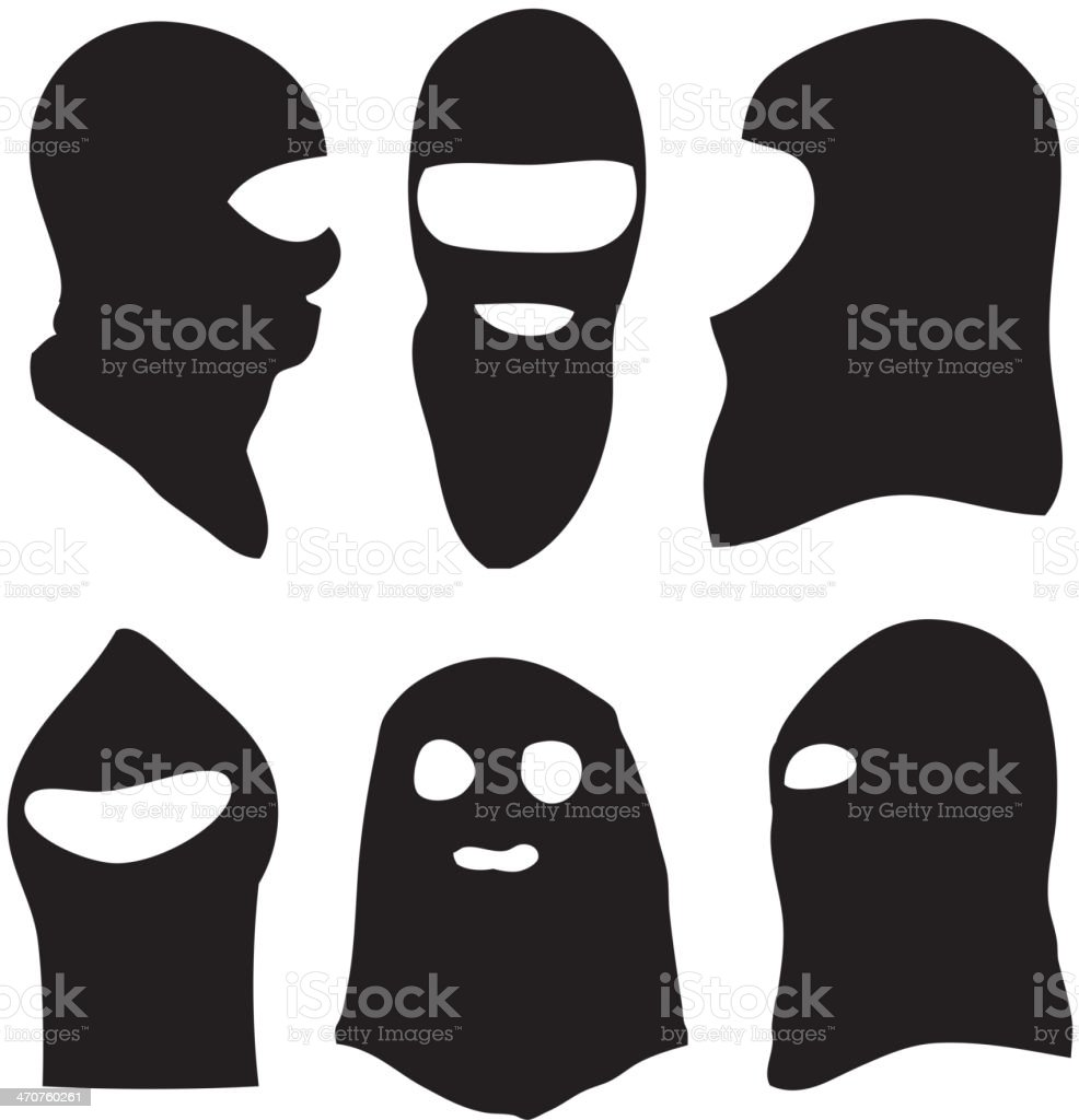 Face Mask vector art illustration