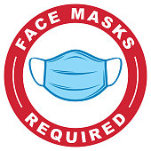 istock Face Masks Required 1256389612