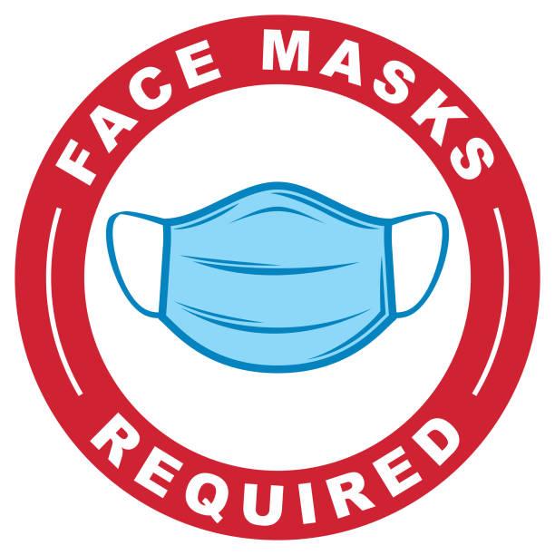 必要なフェイスマスク - マスク点のイラスト素材/クリップアート素材/マンガ素材/アイコン素材
