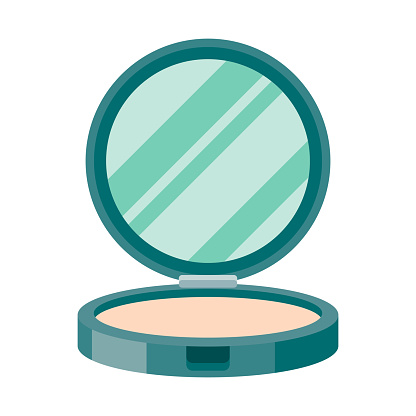 A flat design beauty icon on a transparent background (can be placed onto any colored background). File is built in the CMYK color space for optimal printing. Color swatches are global so it's easy to change colors across the document. No transparencies, blends or gradients used.