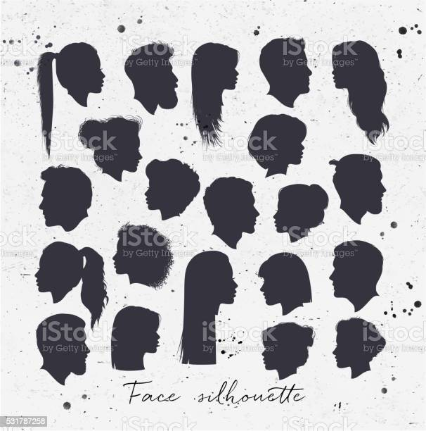 Face silhouettes vector id531787258?b=1&k=6&m=531787258&s=612x612&h=s8cuvdngukhw m55j734nnuj7v6bmxv6znweii5jah4=