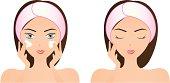 Face Washing (Pink)