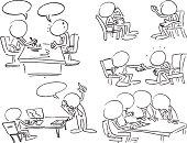 Faceless Business Meetings