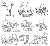 Blank Comic Strip With Clip Art Download 790 clip arts