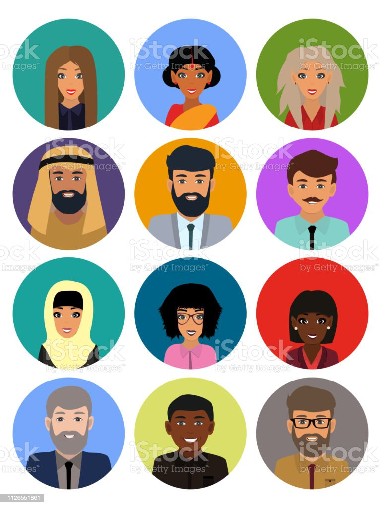 Faces Avatars Icons User Avatar Customer Service Icon