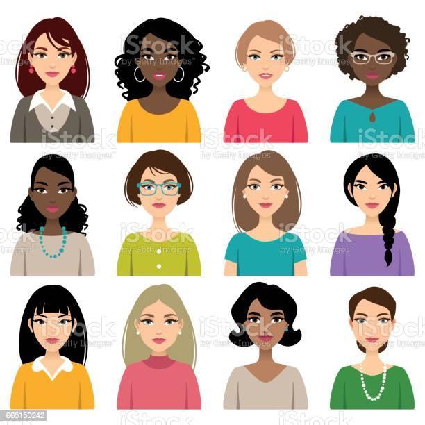 Faces of different nation women vector id665150242?b=1&k=6&m=665150242&s=612x612&h=nnitsacr nttb9ok6tafptgkllbm5zaphipqmgv6r8e=