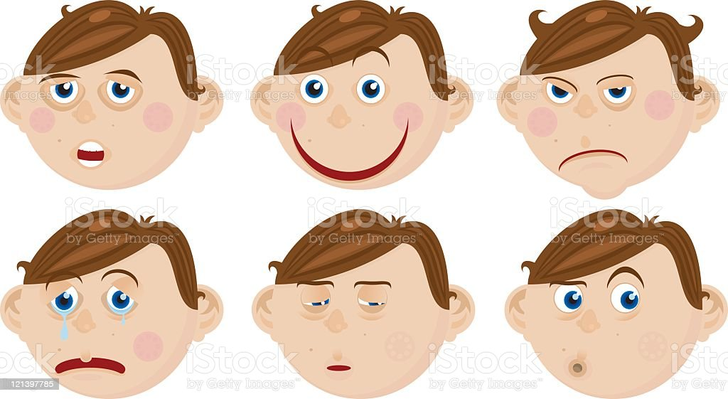 Faces royalty-free faces stock vector art & more images of boys