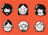 faces icons