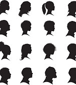 Illustration of people faces.