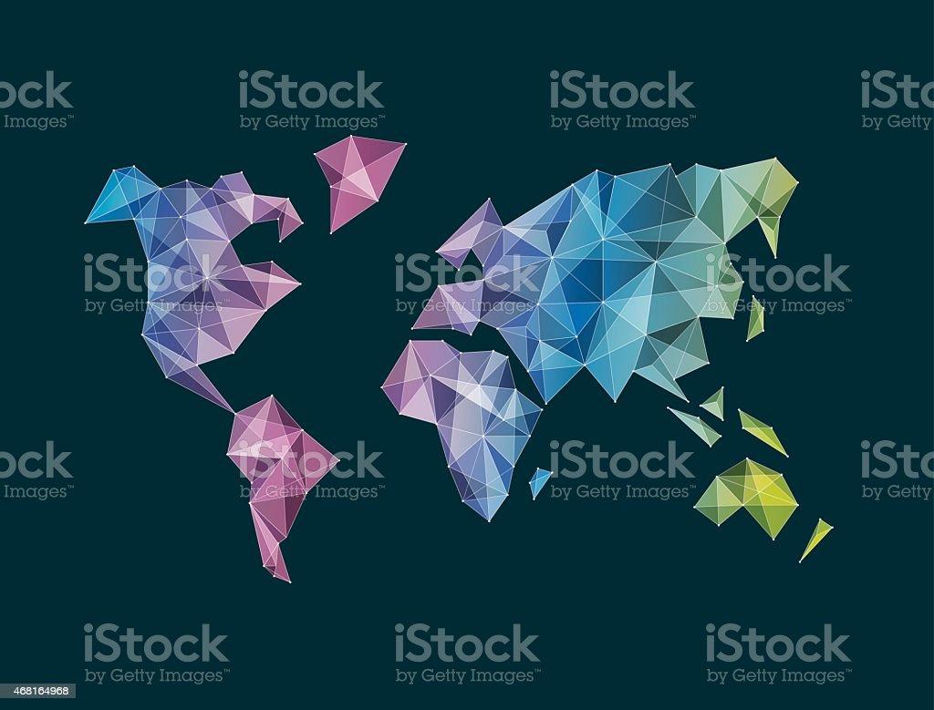 Facet multicolor world map vector stock vector art more images of facet multicolor world map vector royalty free facet multicolor world map vector stock vector gumiabroncs Choice Image