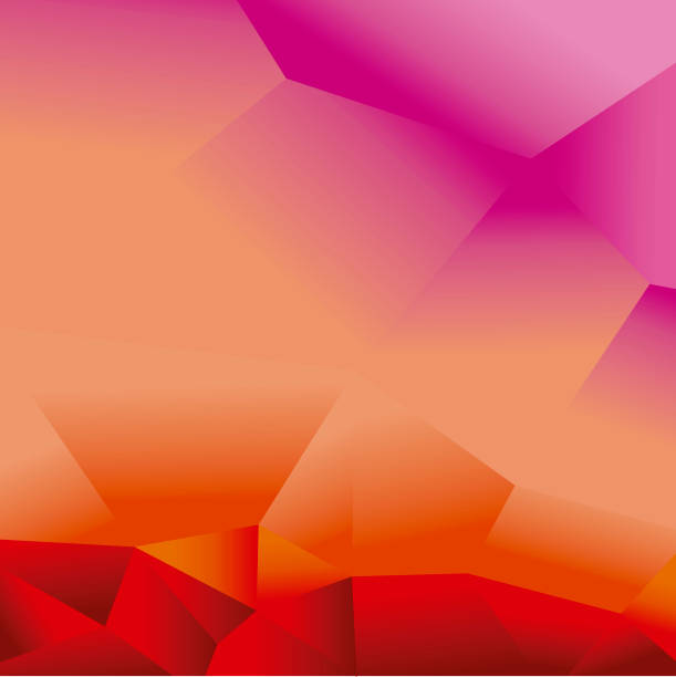 Faceted background 7 vector art illustration