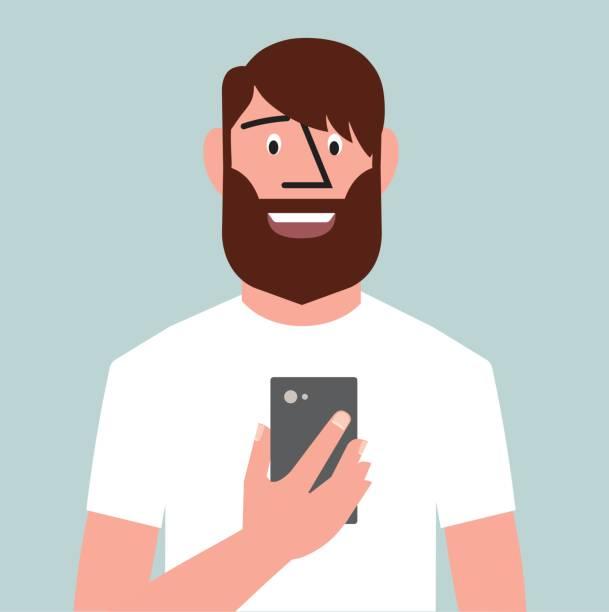 illustrations, cliparts, dessins animés et icônes de sur facetime - facetime
