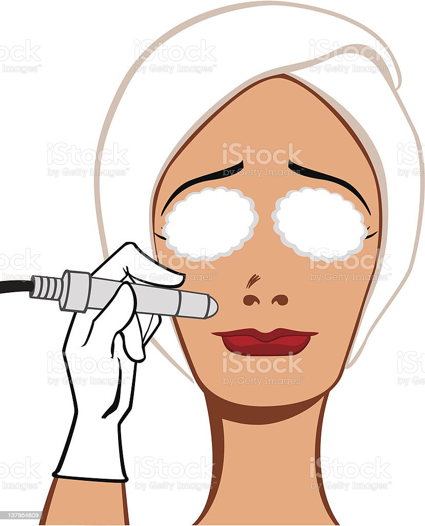 Facial clean royalty-free facial clean stock vector art & more images of adult