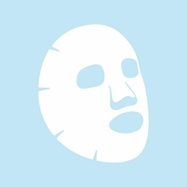 Royalty Free Beauty Sheet Mask Clip Art, Vector Images ...