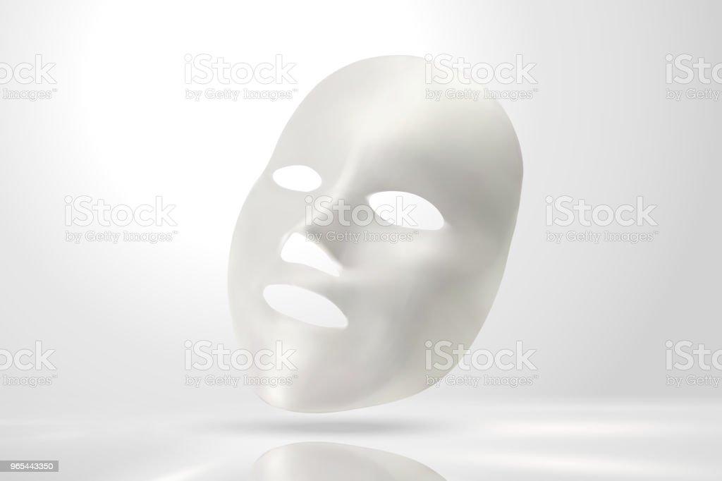 Facial mask mockup facial mask mockup - stockowe grafiki wektorowe i więcej obrazów bez ludzi royalty-free