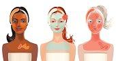 Orange mask for oily skin,