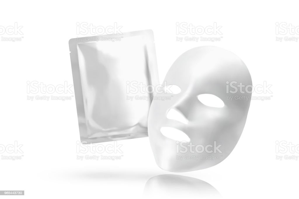 帶箔包面膜 - 免版稅台灣圖庫向量圖形