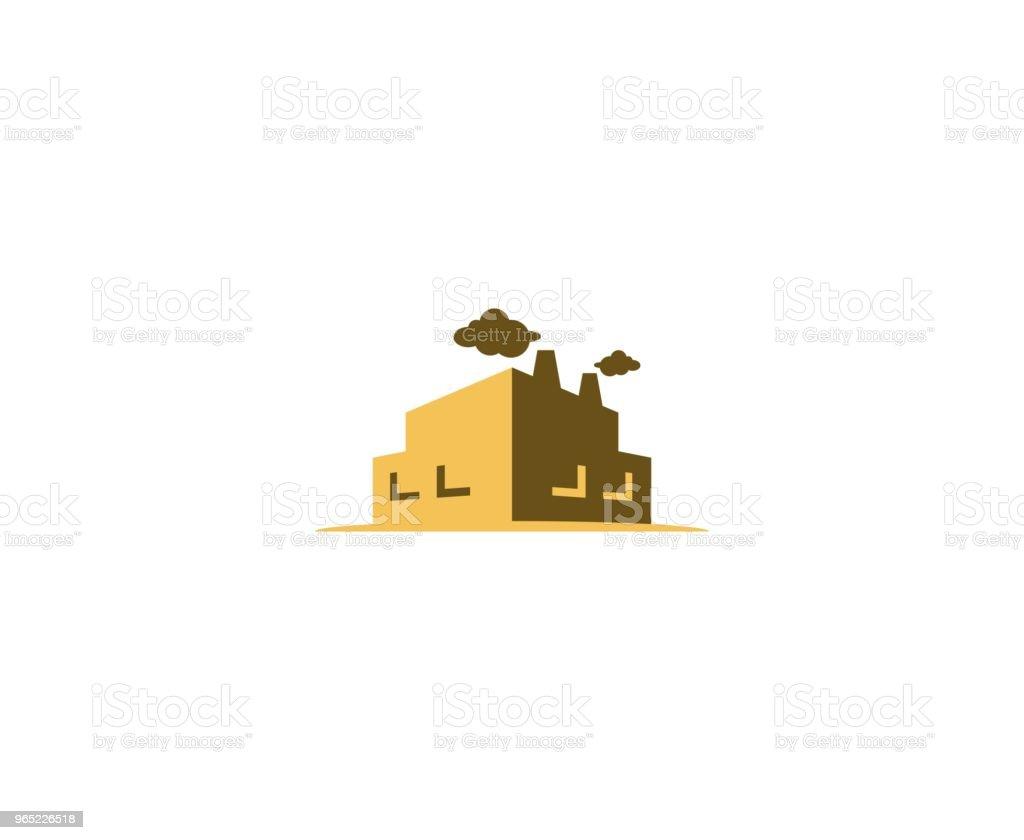 Factory icon factory icon - stockowe grafiki wektorowe i więcej obrazów abstrakcja royalty-free
