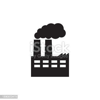 istock Factory icon. Vector illustration of industry icon. 1330520473