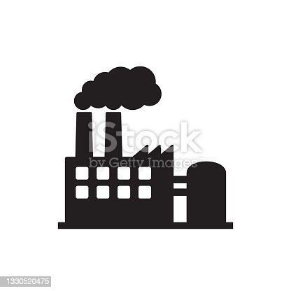 istock Factory icon. Vector illustration of industry icon. 1330520475