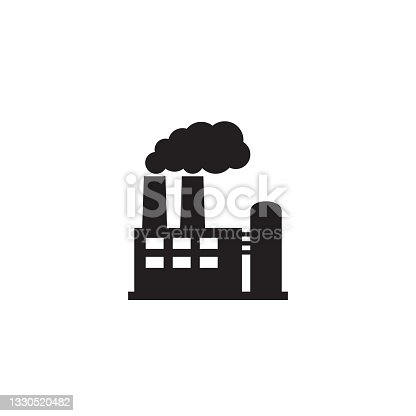 istock Factory icon. Vector illustration of industry icon. 1330520482
