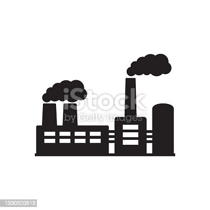 istock Factory icon. Vector illustration of industry icon. 1330520513
