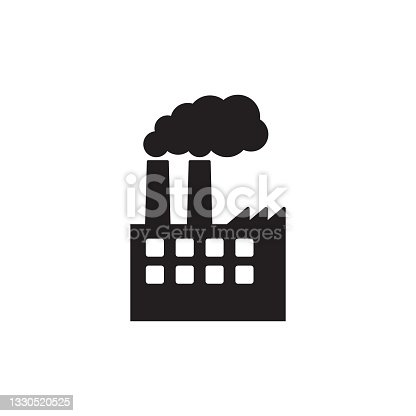 istock Factory icon. Vector illustration of industry icon. 1330520525