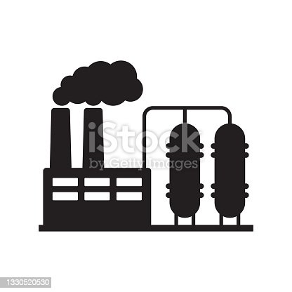 istock Factory icon. Vector illustration of industry icon. 1330520530