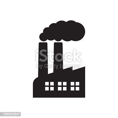 istock Factory icon. Vector illustration of industry icon. 1330520547