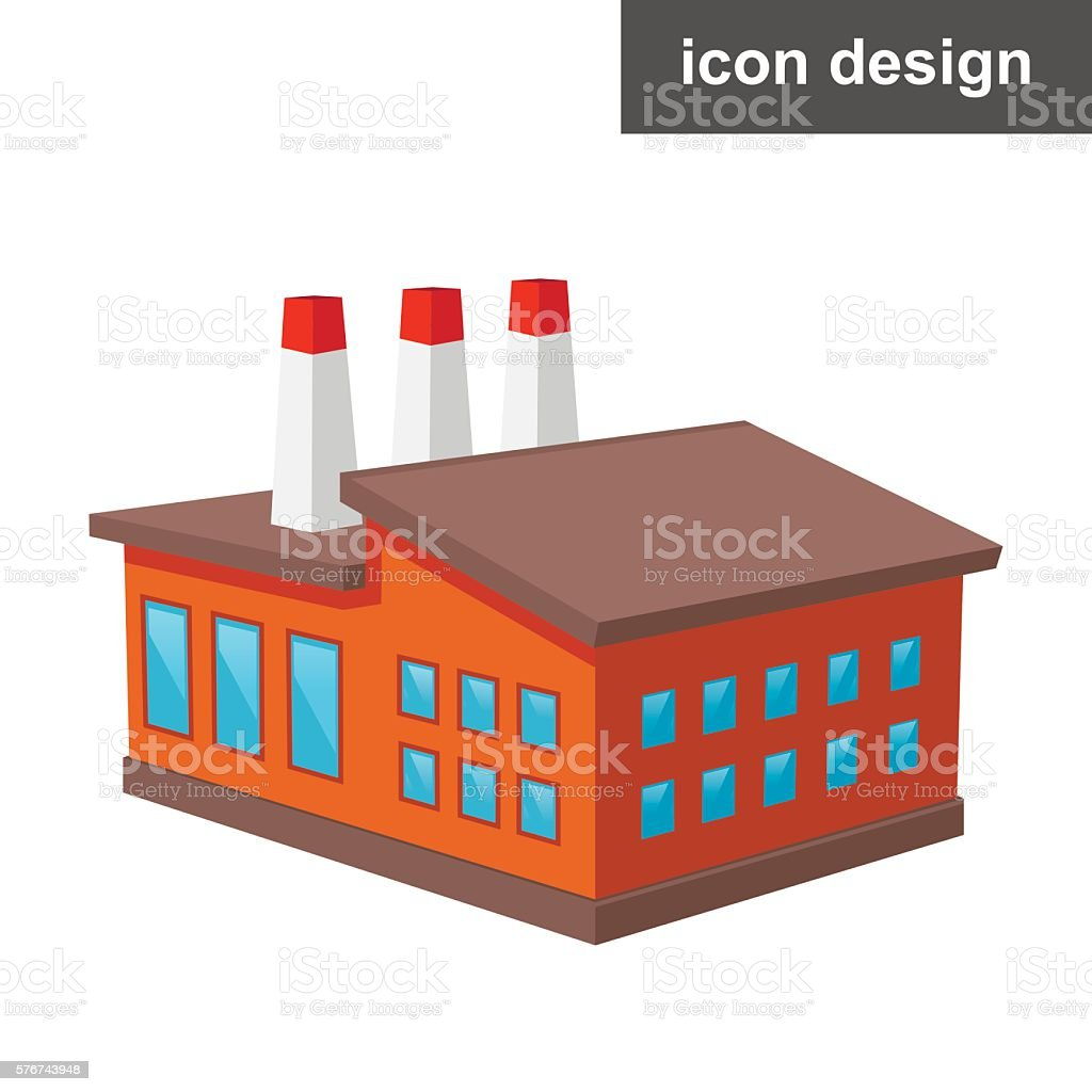 Factory Vector Icon Stock Illustration Download Image Now Istock