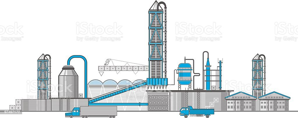 factory royalty-free factory stock vector art & more images of backgrounds