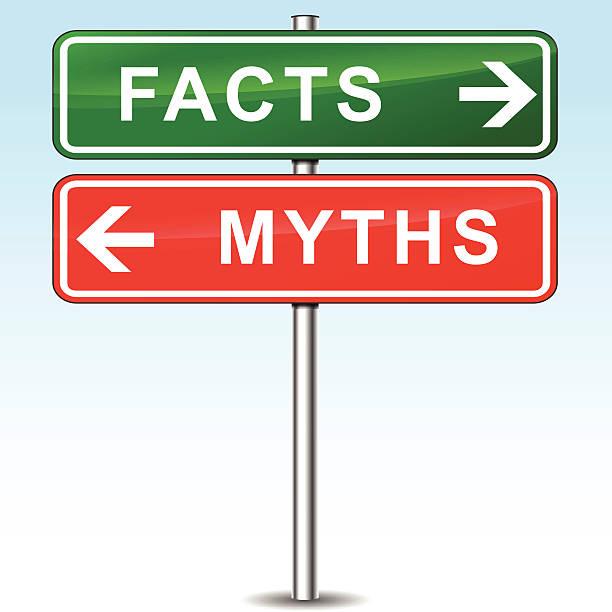 facts sign - mythology stock illustrations