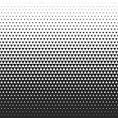 Fade gradient pattern. Vector gradient seamless background. Gradient halftone texture.