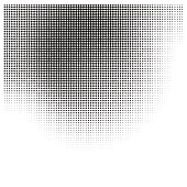 Faded halftone pattern gradient background