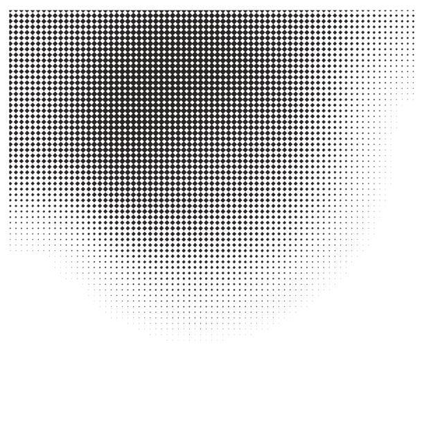 Faded halftone pattern gradient background vector art illustration