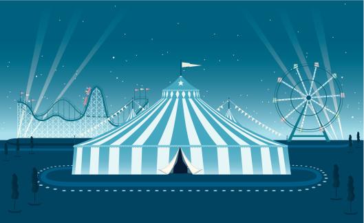 Fairground Night Scene