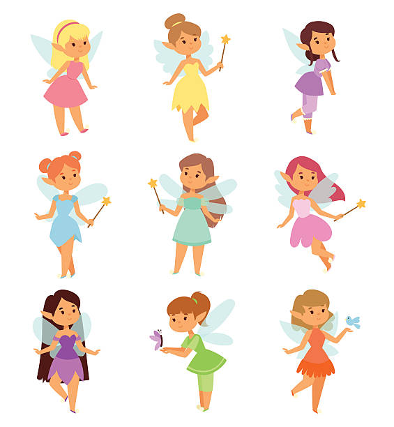 M A S K Cartoon Characters : Royalty free fairy clip art vector images illustrations