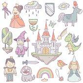 Fairy  castle set collection