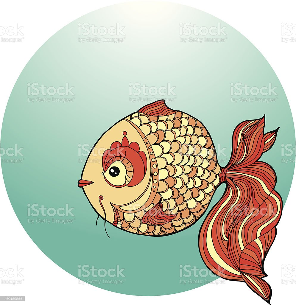 Fairy Fish Stock Vector Art & More Images of Animal 450159555 | iStock