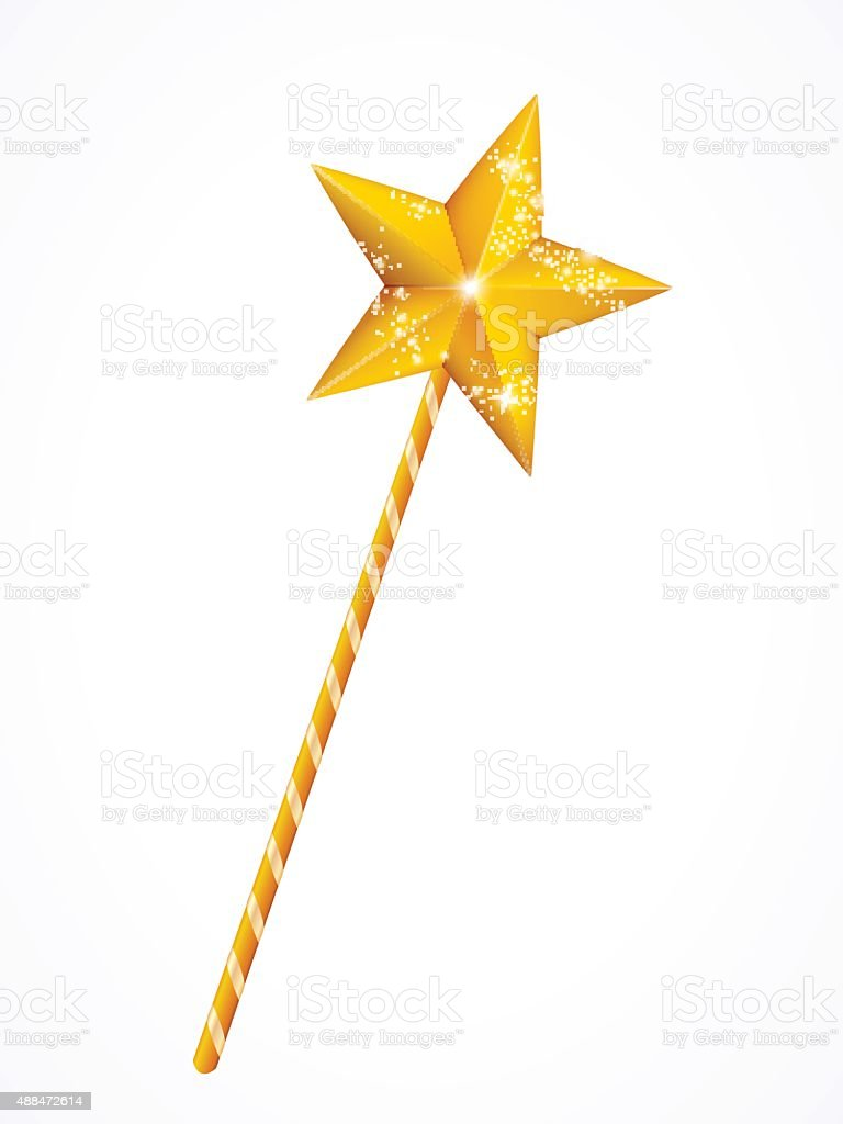 royalty free magic wand clip art vector images illustrations istock rh istockphoto com wind clipart wand clipart harry potter