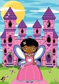 Fairy Princess & Enchanted Castle.