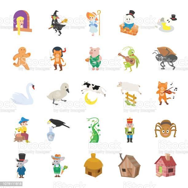 Fairy tale ii color vector icons vector id1078111818?b=1&k=6&m=1078111818&s=612x612&h=uxatndu7ldh6hogl3gb4ukffju7gyvnais5bdaekzma=