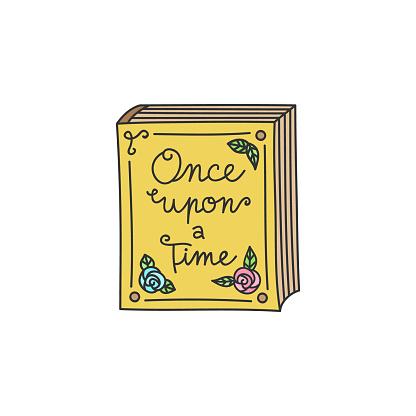 Fairy tale storybook illustration