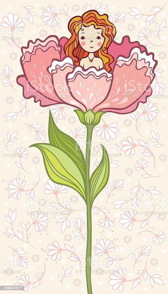 Fairy Tale. vector art illustration